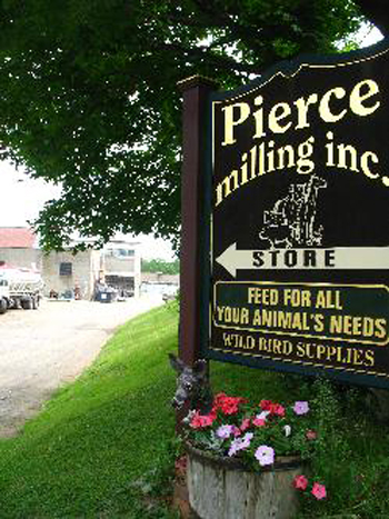 Pierce Milling Sign